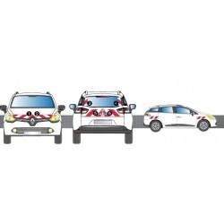KIT BALISAGE POUR RENAULT CLIO 4 ESTATE A PARTIR DE 2014 CLASSE 1