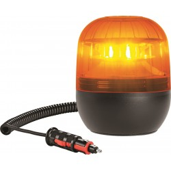 GYROPHARE ORANGE MAGNETIQUE A LED 10 A 30 V HOMOLOGUE R65