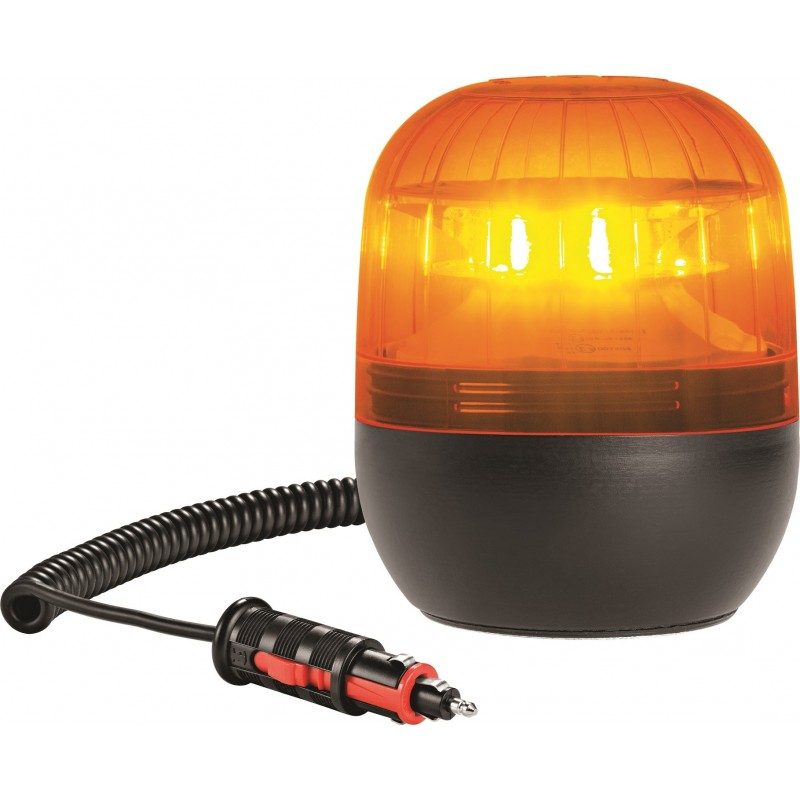 gyrophare orange a poser 3 point a led 10 a 30 v homologue r65. Black Bedroom Furniture Sets. Home Design Ideas