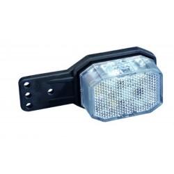 Feu de gabarit GAUCHE FLEXIPOINT LED rouge/blanc Bivoltage 12/24V