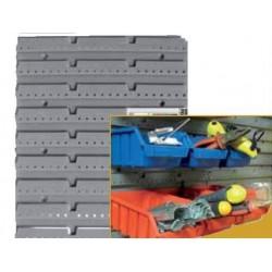 PANNEAU PLASTIQUE SUPPORT BOITES A BEC ECOBOX 350 X 385 X 20 MM