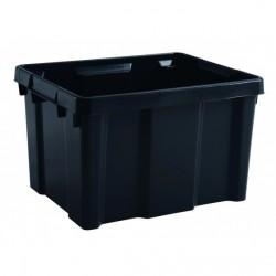 BAC DE RANGEMENT PRO 30 litres noire ( 433 X 342 X 263 mm) EDA