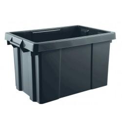 BAC DE RANGEMENT PRO 54 litres noire ( 600 X 392 X 334 mm) EDA