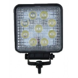 PHARE DE TRAVAIL CARRE 9 LED 10 / 30 V 2200 Lm