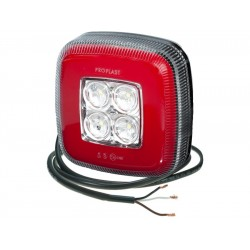 Feu arrière 12/24 V LED ( recul et brouillard )