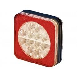 Feu arriere 3 fonctions PRO-BOX LED 12 /24V (stop-veilleuse-clignotant)