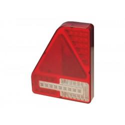 Feu arrière Gauche 5 fonctions 12/24 V LED PRO-EDGE ( connecteur arrière )