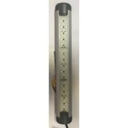 PLAFONNIER RECTANGLE 12V 45 LED ( 242 X 33 X 12 MM )
