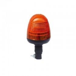 GYROPHARE 18 LED ROTATIF A TIGE FLEXIBLE 10 A 30 V ( R65 / R10 )
