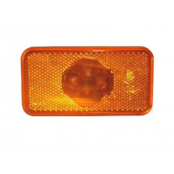 FEU DE GABARIT LATERAL ORANGE VOLVO 4 LED AVEC SEMELLE + CABLE