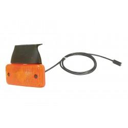 FEU DE GABARIT ORANGE 12/24V LED + CABLE 1.5 M