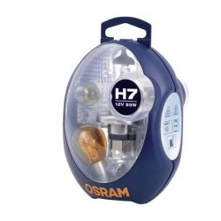 COFFRET DE SECOURS SIMPLE H7 12V