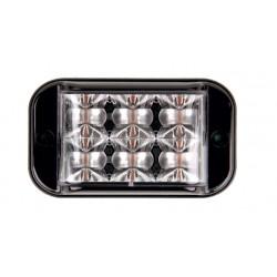 Feu blanc BX32 6 LED classe 1 homologué R65, OACI et CEM ECE R10 avec fixation à visser