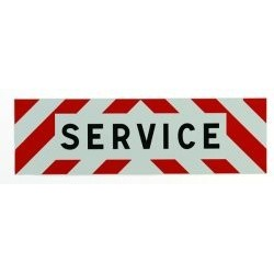 PANNEAU SERVICE ADHESIF 1000 X 300 MM ( classe 1 )