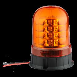 GYROPHARE 18 LED ROTATIF A POSER 12/24 V ( R65 / R10 )