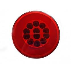 FEU ARRIERE GAUCHE ET DROIT - POSITION / BROUILLARD - 12/24V LED ( diametre 140 mm )
