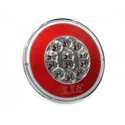 FEU ARRIERE GAUCHE ET DROIT - POSITION / RECUL - 12/24V LED ( diametre 140 mm )