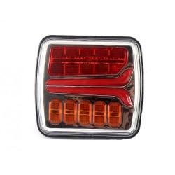 FEU ARRIERE GAUCHE 12/24 V LED ( avec cable )
