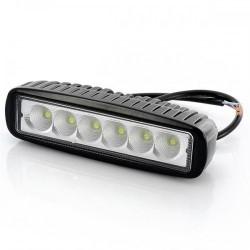 PHARE DE TRAVAIL RECTANGLE 5 LED DOUBLE FONCTIONS