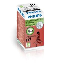 AMPOULE H7 24V 70W Master Duty Philips POUR POIDS LOURDS ( CULOT PX26D ) TRES LONGUE DUREE