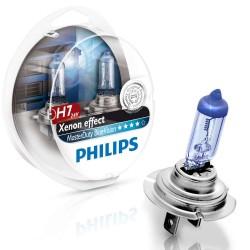 Coffret de 2 AMPOULES H7 24V 70W Blue vision Philips POUR POIDS LOURDS ( CULOT PX26D )