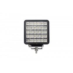 PHARE DE TRAVAIL CARRE 30 LED 12 / 24 V -30W - 3800 Lm ( avec interrupteur Marche / Arret )