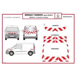 KIT BALISAGE POUR RENAULT KANGOO 2 PORTES A PARTIR DE 2013 CLASSE 2