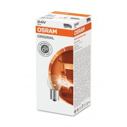 BOITE DE 10 AMPOULES STOP 24V 15W ( Culot BA15s ) OSRAM (tarif de la boite )