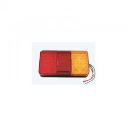 FEU ARRIÈRE LED 24V ( 150 X 80 X 30 mm )