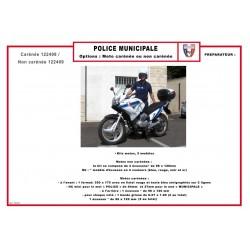 KIT BALISAGE POLICE MUNICIPALE AVANT / ARRIERE + LATERAL POUR VL ET VU CLASSE 1