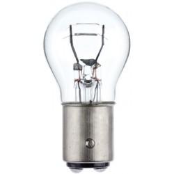 Ampoule Stop 12V 21/5 W Culot BAY15d HELLA ( boite de 10 ampoules)