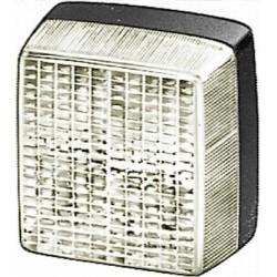 FEU DE RECUL A PLAQUER HELLA BLANC 12/24V ( 84 X 84 X 51 mm ) 2ZR 003 014-091