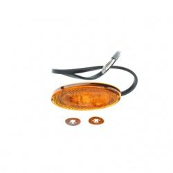 FEU ORANGE LED TRUCK LITE SERIE M893 AVEC CABLE