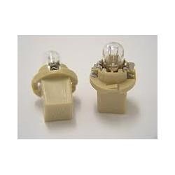 AMPOULE TACHY 24V 1,2W CULOT MARRON (boite de 10 ampoules)