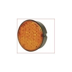 FEU ROND ORANGE 24V LED JOKON SERIE 730