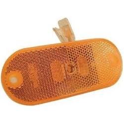 FEU A LED ORANGE JOKON 24V AVEC CABLE 165 MM