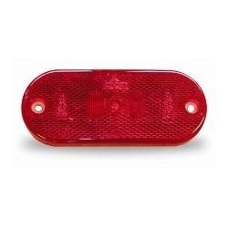 FEU A LED ROUGE 24V JOKON AVEC CABLE 165 MM