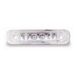 FEU LED BLANC JOKON CABLE RACCORDEMENT 250MM 12V