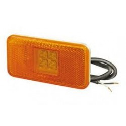 FEU DE GABARIT ORANGE LATERAL SCANIA A LED