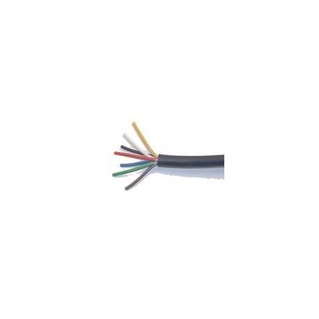 CABLE MULTICONDUCTEUR NOIR 4 X 1 .5 MM²