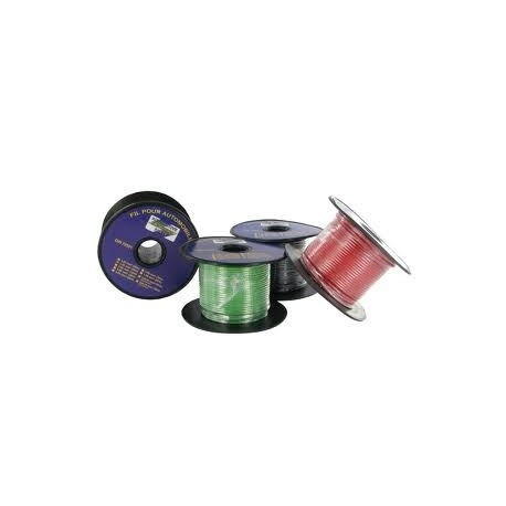 CABLE MONOCONDUCTEUR 1 MM² ROUGE ( EN BOBINE DE 50 METRES)