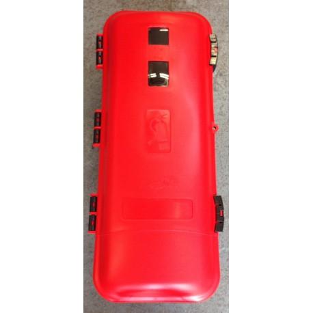 coffret extincteur 6 kg noir couvercle rouge. Black Bedroom Furniture Sets. Home Design Ideas