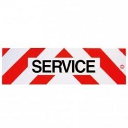 PANNEAU SERVICE 500 X 150 MM MAGNETIQUE ( classe 1)