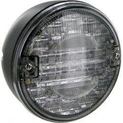 FEU ROND DE RECUL LED DIAMETRE 140 MM 10 a 30 V