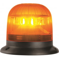 GYROPHARE ORANGE FLASH A POSER 3 POINT A LED 12 A 24 V HOMOLOGUE R65