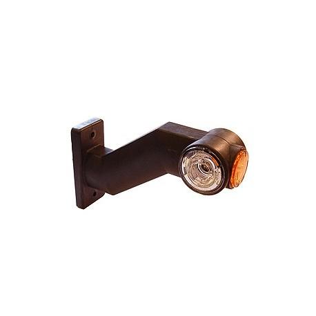 FEU DE GABARIT LED TRICOLORE COTE DROIT ANTENNE FLEXIBLE 90° JOKON SUR 9 V A 32 V