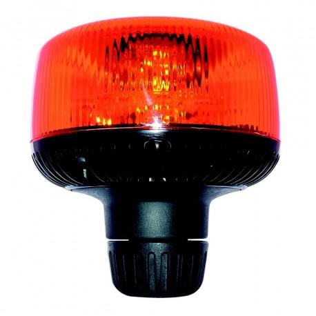 gyrophare orange satelight led sur tige 12 a 24 v homologue r6. Black Bedroom Furniture Sets. Home Design Ideas