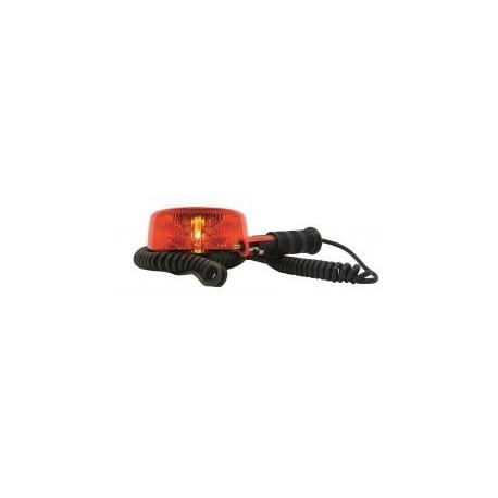 gyrophare orange satelight magnetique cordon allume cigare a led 12 a 24 v homologue r65. Black Bedroom Furniture Sets. Home Design Ideas