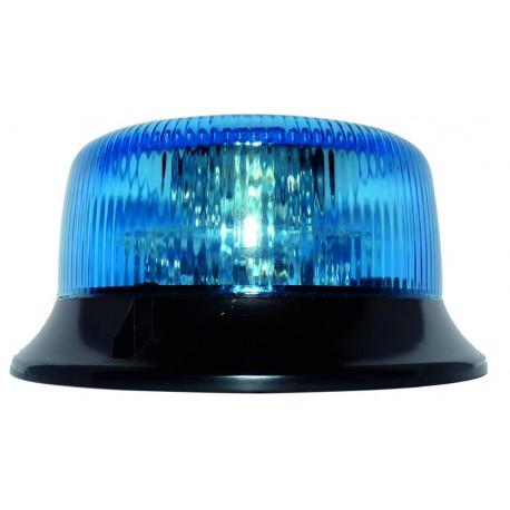 GYROPHARE BLEU SATELIGHT A POSER 3 POINTS A LED 12 A 24 V HOMOLOGUE R65
