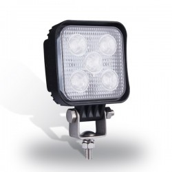 PHARE DE TRAVAIL CARRE 5 LED 9V / 32V 85. x 85 MM